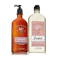 Bath & Body Works COMFORT - Vanilla & Patchouli Body Wash & Foam Bath and Lotion...