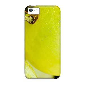 New Style Tpu 5c Protective Case Cover/ Iphone Case - Fresh Grapes