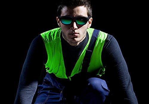 /Vert/ univet 5/x 9/Sport Extreme Lunettes de Protection Miroir Lunettes de Soleil/ /x Generation