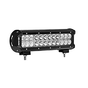 72W Led Light Bar, Eyourlife 12V Led Light Bar Cree Led Light 72W 12 Inch LED Work Light Spot Flood Combo Beam Daytime Driving Lights Fog Lights ATV UTV SUV Marine Boat Jeep Lighting RV Accessories