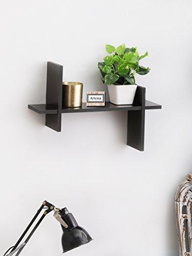 Artesia Brown Wooden Wall Shelves/ Wall Shelf For Home Décor