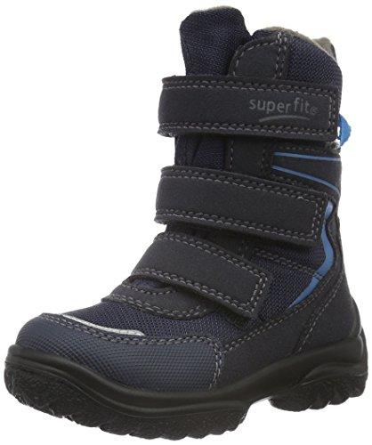 Superfit Snowcat 700022, Jungen Schneestiefel, Blau (Ocean Kombi 81) Blau (OCEAN KOMBI 81)