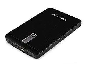 RAVPower 23000mAh Portable Charger 4.5A DC Output External Battery Pack (3-Port, 9V/12V/16V/19V/20V, LCD Display) for Macbook, Laptops, Smartphones