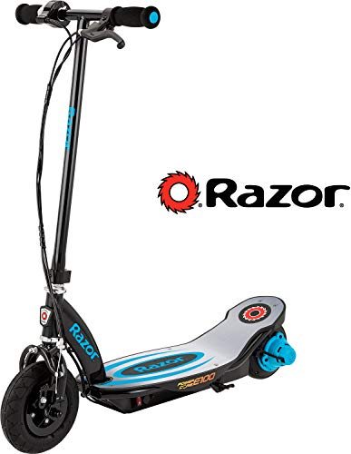 Razor Power Core E100 Electric Scooter with Aluminum Deck - Blue