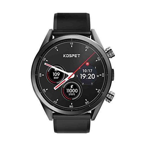 "Smart Watch GPS, Kospet Hope Smartwatch 3GB + 32GB Dual 4G 1.39"" AMOLED WiFi/GPS/GLONASS 8.0MP Y3D0 Sports Smart Watch"