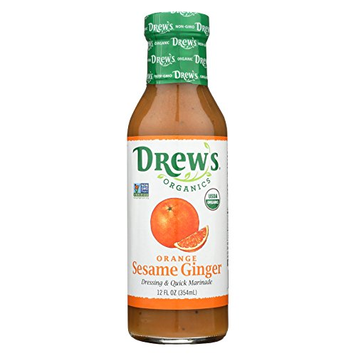 nic Dressing and Quick Marinade - Orange Sesame Ginger - 12 Fl. Oz. - Case of 6 ()