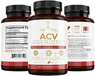UMZU: Apple Cider Vinegar + Prebiotics - 30-Day Supply - 100% Natural - Promote Digestive & Immune Health - No Smell or Bad Taste - Support Weight Management & Reduce Bloating by UMZU