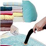 Electric Mattress Pad Reviews Selling 1pc Space Saver Saving Storage Seal Vacuum Bags Compressed Organizer Bag Holder Fashion - Space Saver