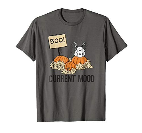 Peanuts Halloween Snoopy Current Mood T-Shirt]()