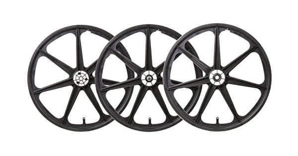 Amazon.com: WheelMaster TRIKE MAG WHL SET BLK F/RR-DRIVE ...