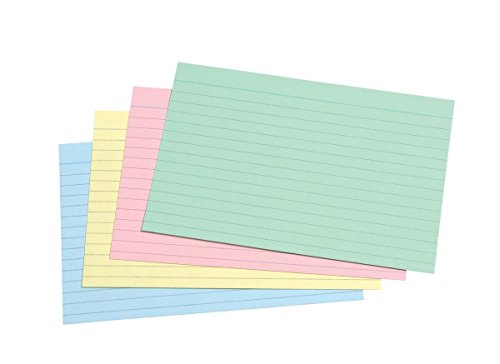- Concord Record Card Smooth 152x102mm Assorted Ref 16199 [Pack 100]