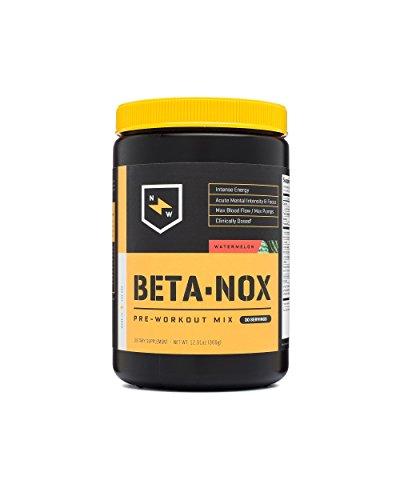 New Whey Nutrition Betanox Pre-Workout Supplement, Watermelon, 336 Gram