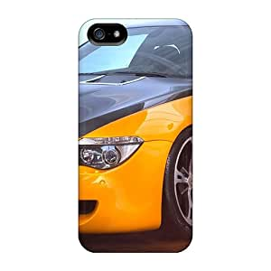 Rugged Skin Case Cover For Iphone 5/5s- Eco-friendly Packaging(bmw By Ac Schnitzer)