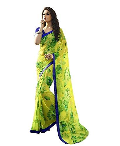 Georgette Indian Sari - 8