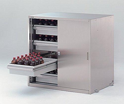 アズワン3-4462-23耐震ステンレス薬品庫WN-990S4 B07BD32FR6