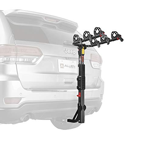 (Allen Sports Premier Hitch Mounted 3-Bike Carrier)
