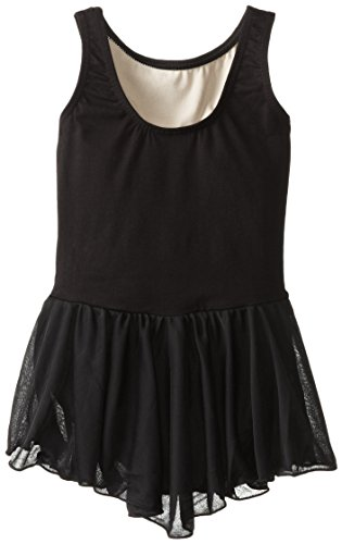 Clementine Girl's 2-6X Girls Leotard Dress, Black, 12/14 by Clementine Apparel (Image #2)