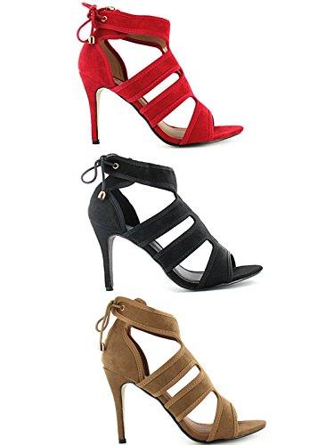 Foster Footwear - tacones altos mujer marrón