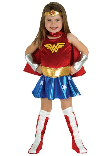 DC Super Heroes Child's Wonder Woman Costume, (Wonder Woman Costume Toddler)