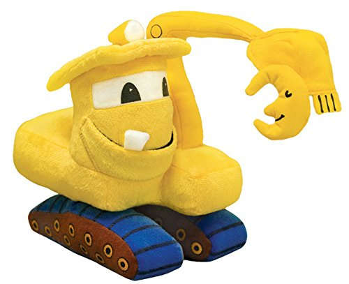 MerryMakers Goodnight, Goodnight, Construction Site Plush Toy, 11-Inch (Plush Tractor)