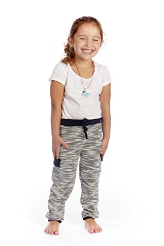 Crush Toddler Terry Space Dye Cut & Sew Athletic Pant Cargo Pocket Size 3T Black