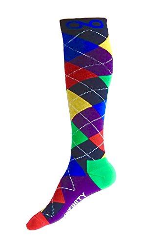 Infinity Compression Socks (1 Pair) (i-Argyle, - Argyle Slip