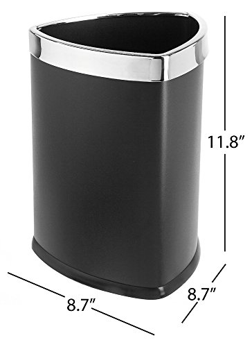 corner trash can - 1