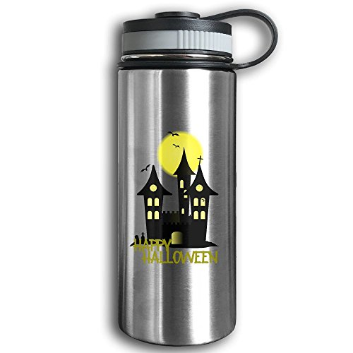 Happy Halloween Outdoor Stainless Steel Insulated Exercise (University Halloween Costume Protest)