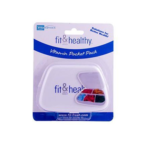 Fit and Healthy VitaMinder Vitamin Pocket Pack - 1 Case by Fit & Healthy