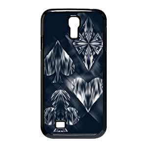 Samsung Galaxy S4 9500 Cell Phone Case Black Aces and Ices KYS1111504KSL