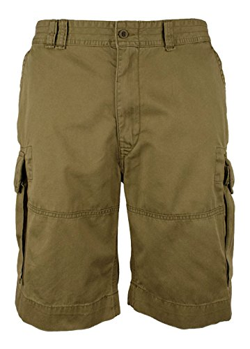 Polo Ralph Lauren Men's Big and Tall Classic Fit Chino Cargo Shorts (42T, Mountain (Lauren Flap Pocket Jeans)