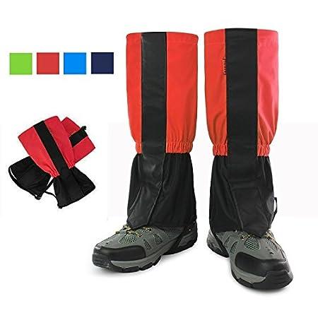 Polainas de legging de nieve, G-Hawk® velcro impermeables de pierna alta, para caminar, esquiar, caminar, podar hierba - azul oscuro OEM