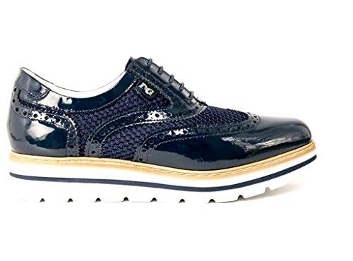 Nero Giardini - Zapatos de cordones para mujer turquesa