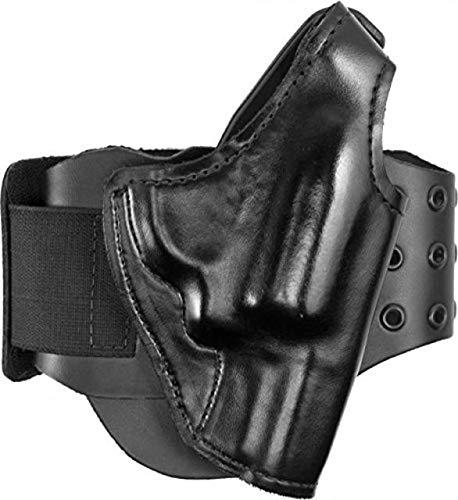 - Gould & Goodrich BootLock Ankle Holster for Backup Gun for Glock 43,Right Handed, Black B716-5