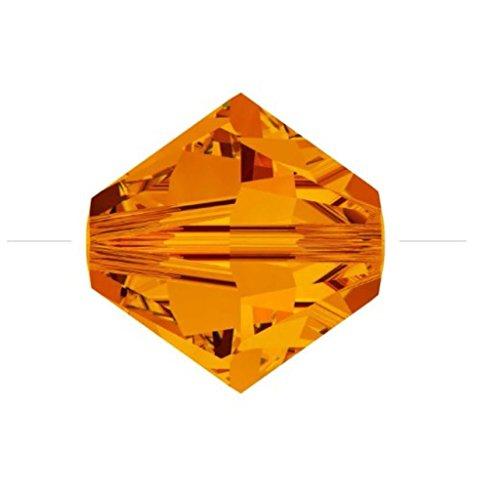 25pcs x Genuine Preciosa Bicone Crystal Beads 6mm Sun Alternatives For Swarovski #5301/5328 #preb612