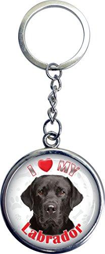 UPC 632181076293, iLeesh i Love My Labrador Key Chain