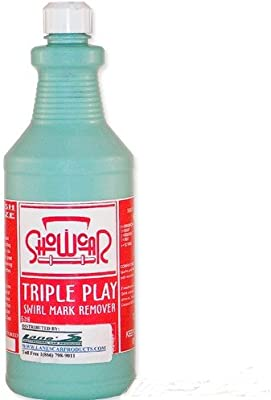 Amazon Com Show Car Products Triple Play Swirl Mark Remover 16 Oz
