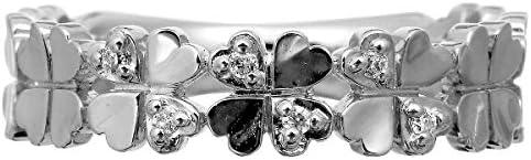 ダイヤモンド リング シルバー925 品質保証書 金属アレルギー 日本製(8)