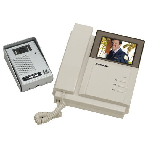 SECO-LARM DP-222Q ENFORCER Color Video Door Phone, For home or business use, Simple 2-wire connection, Camera has 6 LEDs for nighttime operation, Remotely and securely talk to visitors by SECO-LARM