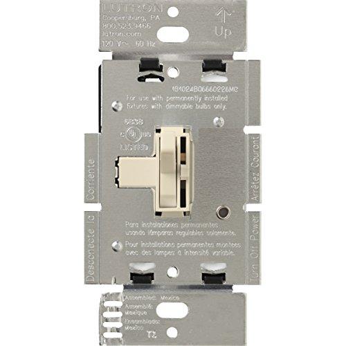 3 Way Preset Dimmer (Lutron AY-103P-LA Ariadni 1000-watt  3-Way Dimmer, Light Almond)