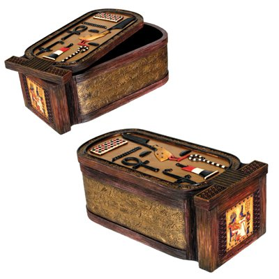 Cartouche Box Collectible Egyptian Decoration Jewelry (Cartouche Box)