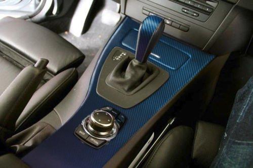 Vvivid chameleon carbon fiber purple to blue oil slick stretch conform caste vinyl wrap decal Blue carbon fiber wrap interior
