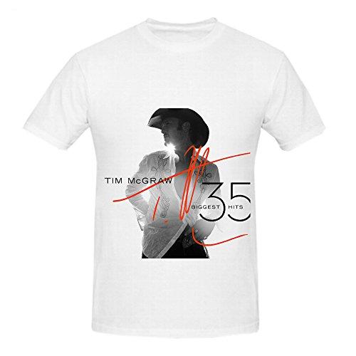 tim-mcgraw-35-biggest-hits-80s-album-men-crew-neck-casual-shirts-white