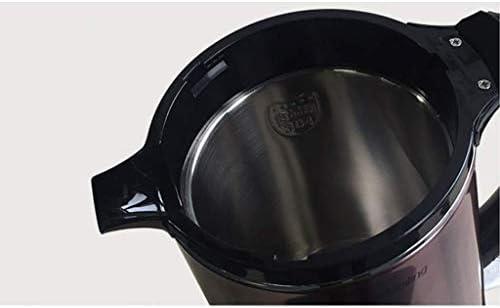 Waterkoker 1.8L Roestvrijstalen Koffiepot 1850W Snelle verwarming/Automatische uitschakeling Droogkookbeveiliging zonder BPA-koord.
