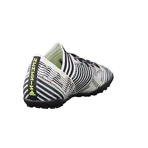 adidas Nemeziz Tango 17.3 Tf J - Zapatillas de fútbol Niños Amarillo (Footwear White/solar Yellow/core Black)