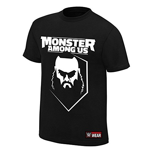 "Braun Strowman ""Monster Among Us"" Authentic T-Shirt, L"
