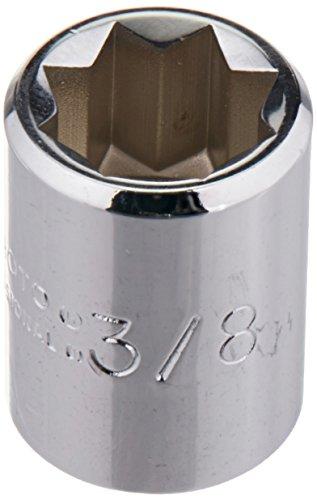 Single Drive Socket (Stanley Proto J4712S 1/4-Inch Drive Socket, 3/8-Inch, 8 Point)