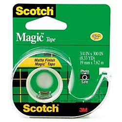 3M Magic Tape with Dispenser, 3/4