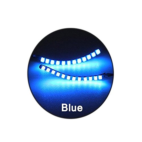 BOXMO LED Lashes Interactive Eyelashes Light,Shining Charming for Party,Bar,NightClub,Concerts,Birthday,Halloween,Christmas Ornament;Music Control Mode And Switch Mode (Blue) -