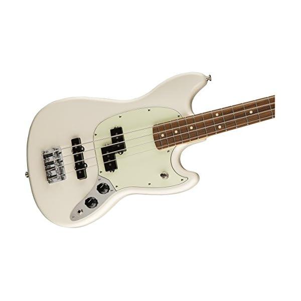 Mustang Bass PJ PF Olympic White